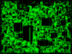 fly through 8000 glowingcubes