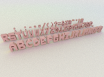 font-3D-first-sample