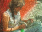 Clara mosaic